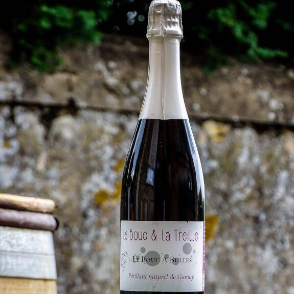 Le bouc à bulles (vin rosé pétillant) Bio