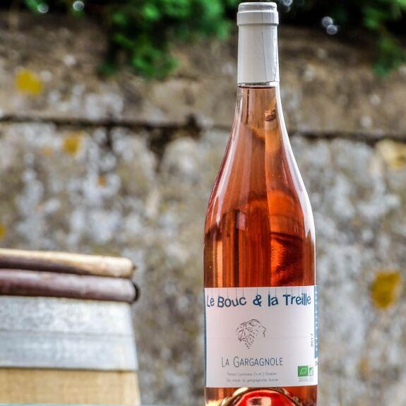 La Gargagnole (vin rosé) Bio