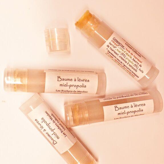 Baume à lèvres Miel-Propolis Bio