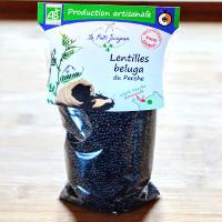Lentilles Beluga Bio