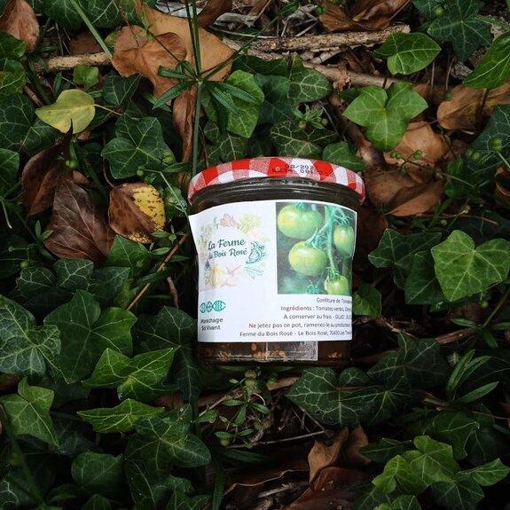 Confiture de tomates vertes Bio