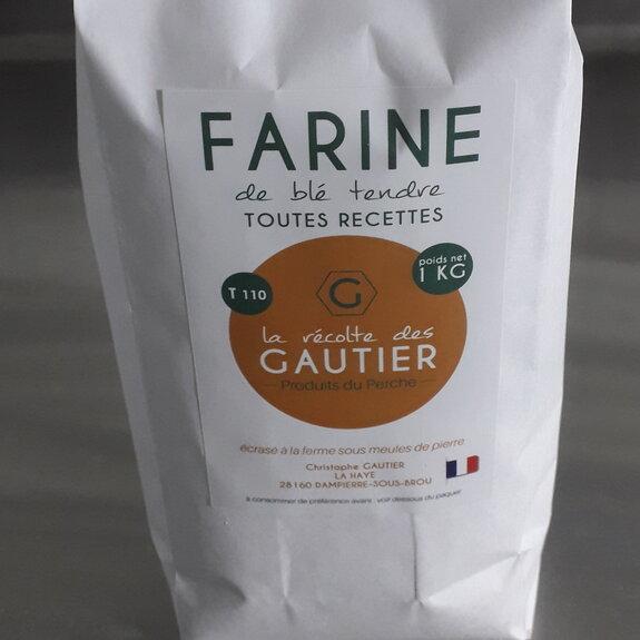 Farine de blé tendre T110