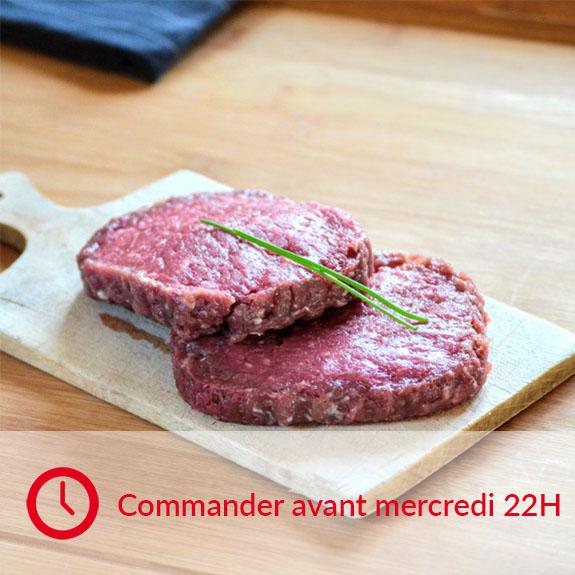 Steaks hachés de limousine