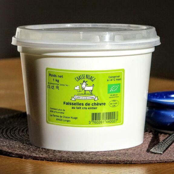 Faisselle au lait de chèvre Bio 1Kg