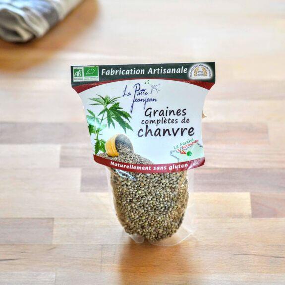 Graines Chanvre décortiquées Bio